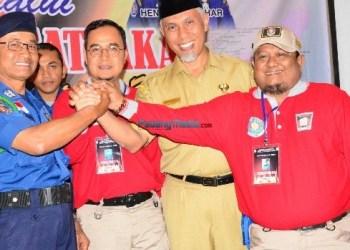 Pembentukan Satlakar oleh Pemko Padang. (der)