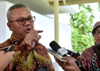Ketua KPU, Arief Budiman di Kantor Kepresidenan, Jakarta, Rabu (11/7) siang. (Foto: ist)