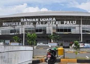 Bandara Mutiara Aljufri Kota Palu. (ist)