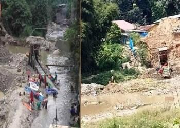 Tambang emas diduga ilegal di Batang Lasi, Kota Sawahlunto. (tumpak)