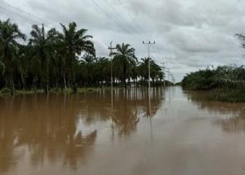 Banjir di Kec. Ampek Nagari, Agam. (ist)