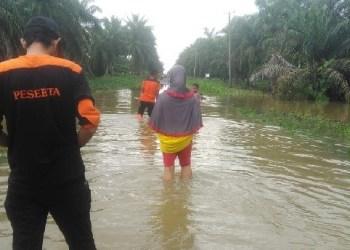 Banjir di Agam. (fajar)