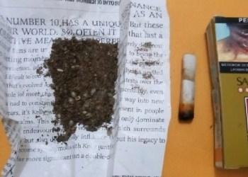 Barang bukti yang diamankan dari penangkapan pemakai ganja di Tuapeijat, Kamis (30/1). (ers)