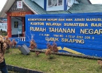 Rutan Lubuk Sikaping. (riki)