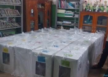 Logistik pemilu di Agam. (foto: amc)