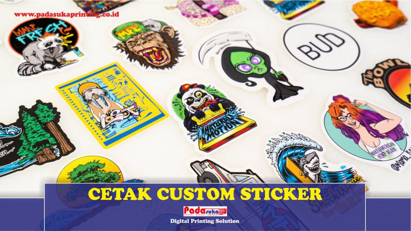 Apa yang Dimaksud Print Custom Sticker serta Kelebihannya Bagi Anda?