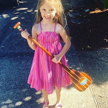 Love this little paddler with her paddlechica sticker on herhellip