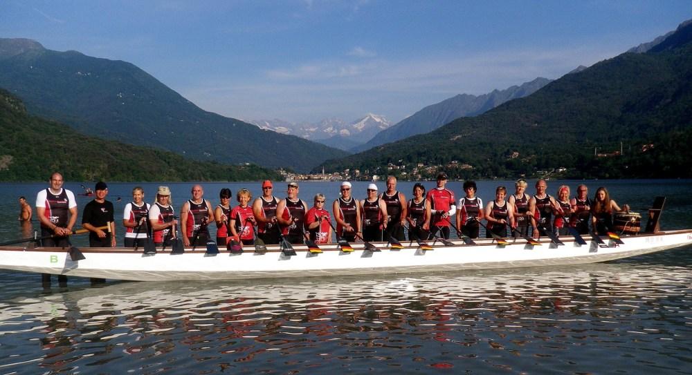 German Dragon Boat team