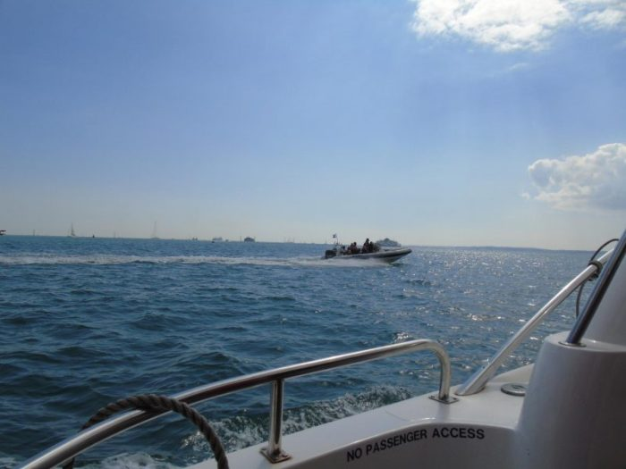 Swimming the Solent