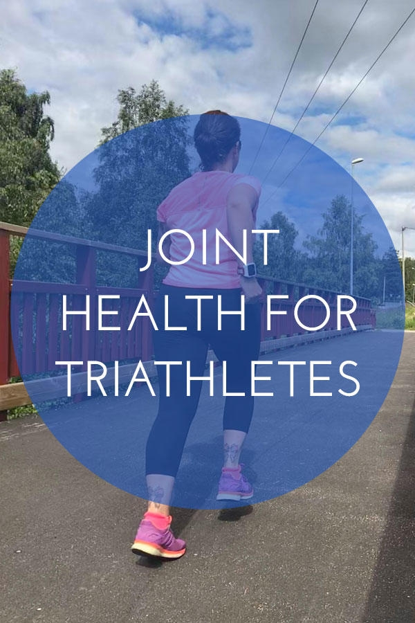 Joint health for triathletes