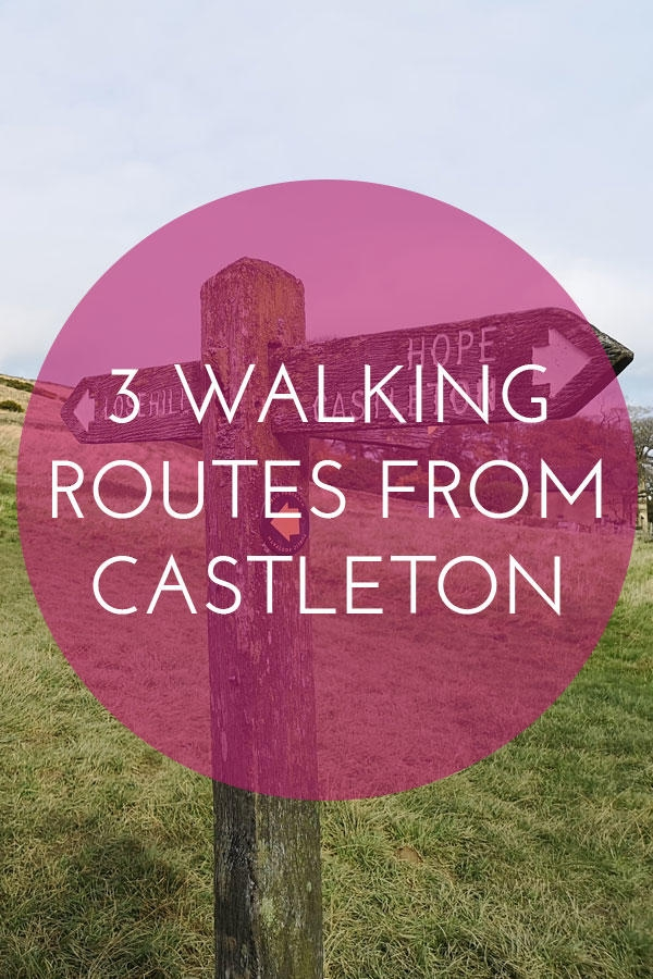 Castleton in the Peak District is the perfect base for exploring the hills and trails- here are 3 of the best walking/running routes.