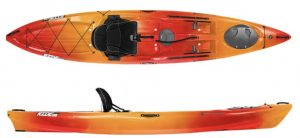 Wilderness Systems Ride 135 Kayak - Mango color