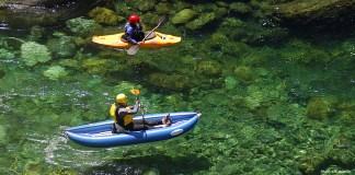 Kayaking on the West Coast