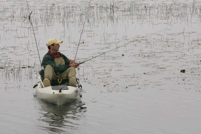 Pro kayak angler reaps the benefits of kayak fishing