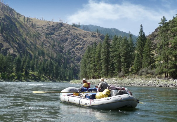 River rafting on Salmon River