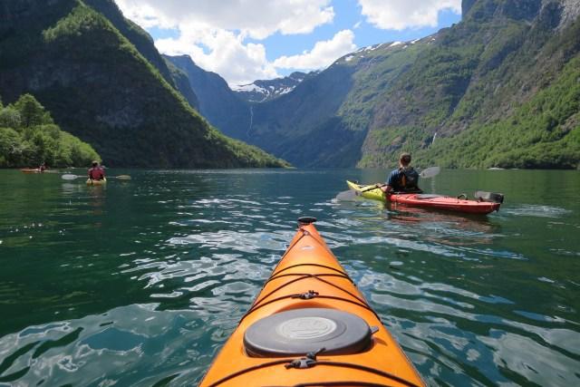 Bond with nature through kayaking
