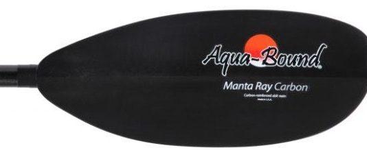 Aquabound Manta Ray Carbon Posi-Lok 2 Piece Kayak Paddle - blade