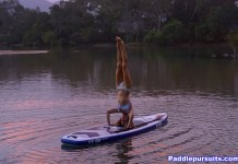 SUP Yoga standup paddleboard