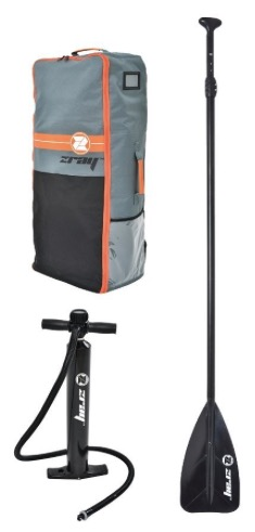 Zray YG6 yoga sup with backpack pump and paddle