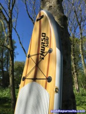 Thurso Surf Waterwalker 10'6 iSUP - many D-rings and handles to carry paddleboard