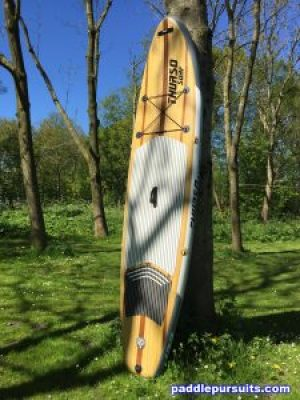 Thurso Surf Waterwalker inflatable standup paddleboard - great looking and super paddling SUP