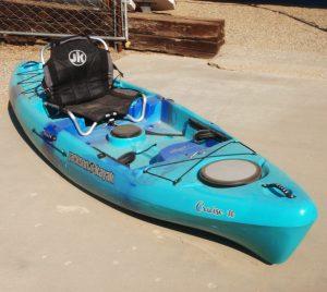 Jackson Kayak   Cruise 10   Teal Blue   Fishing Kayak