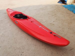 Jackson Kayak | Karma Unlimited | Red | Whitewater Race