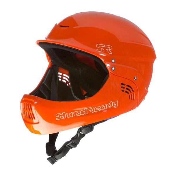 Shred Ready | Standard Fullface Helmet | Orange