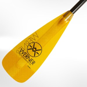 Werner Session Stand Up Paddle | Yellow | Blade Detail