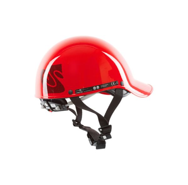 Strutter Helmet | Red | Back View