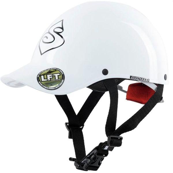 Strutter Helmet | Gloss White | Front View