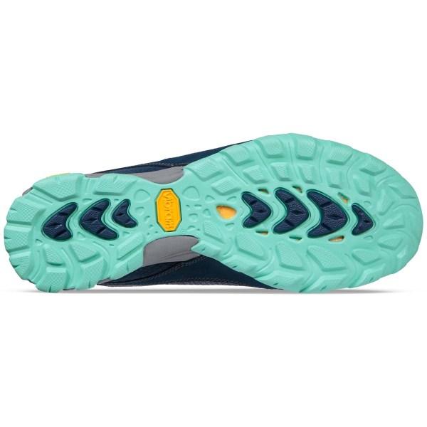 Women's Ahnu by Teva Sugarpine II Waterproof Hiking Boot | Insignia Blue | Bottom View