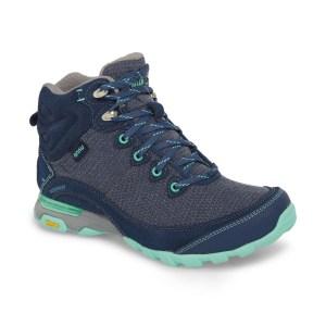 Women's Ahnu by Teva Sugarpine II Waterproof Hiking Boot | Insignia Blue | Side View