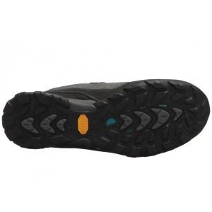 Women's Ahnu by Teva Sugarpine II Waterproof Hiking Shoe   Black   Bottom View