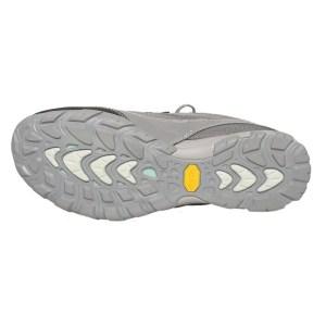 Women's Ahnu Sugarpine Waterproof Hiking Shoe | Dark Grey | Bottom View