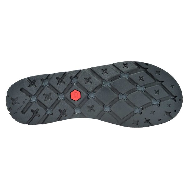Men's Astral Brewer 2.0 Water Shoe | Basalt Black | Bottom View