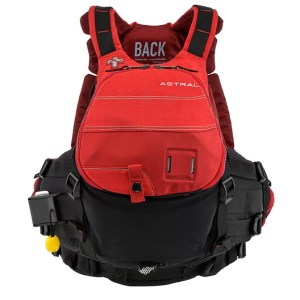 Unisex Astral GreenJacket PFD | Cherry Creek Red | Front View
