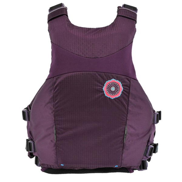 Women's Astral Layla PFD | Eggplant | Back View
