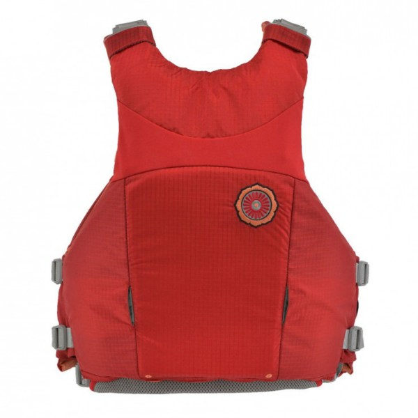 Women's Astral Layla PFD | Rosa Red | Back View