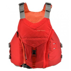 Women's Astral Layla PFD | Rosa Red | Front View