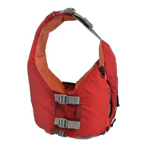 Women's Astral Layla PFD | Rosa Red | Side View