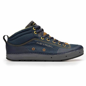 Men's Astral Rassler Water Shoe | Navy Brown | Side View
