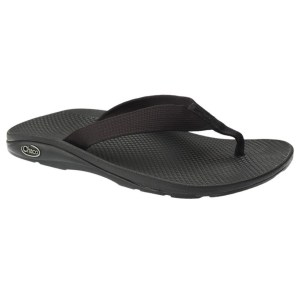 Men's Chaco EcoTread Flip Flop | Black | Side View