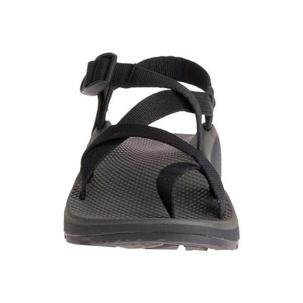 Men's Chaco ZCloud 2 Sandal | Black | Front View