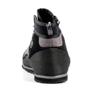 Men's Five Ten Water Tennie Shoe   Black   Back View
