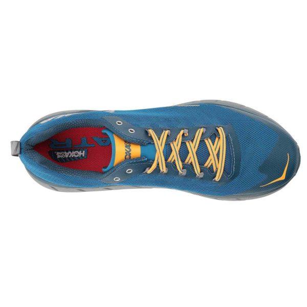 Men's Hoka One One Challenger ATR 4 Trail Running Shoe | Mykonos Blue Legion | Top View
