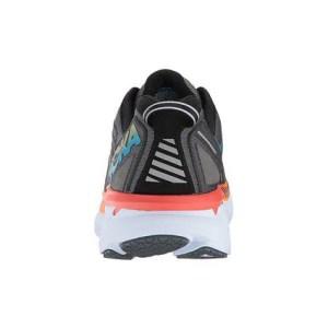 Men's Hoka One One Clifton 4 Running Shoe   Castlerock Atomic Blue   Back View