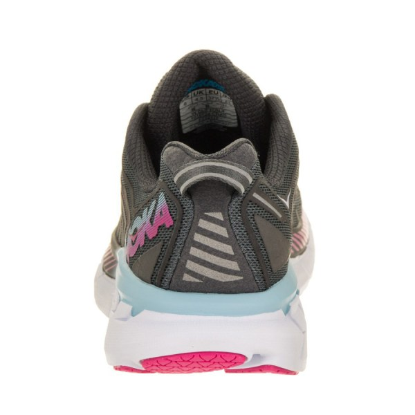 Women's Hoka One One Clifton 4 Running Shoe | Castle Rock Asphalt | Back View