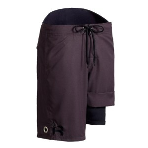 Men's Immersion Research Neoprene Lined Guide Shorts | Shale | Front View