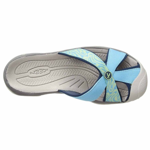 Women's Keen Bali Flip Flop | Norse Blue Opal | Top View